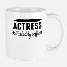 Actress Fueled By Coffee Mugs
