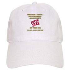 Super Size It! Baseball Cap