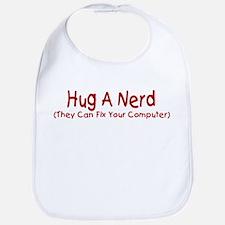 Hug A Nerd Bib