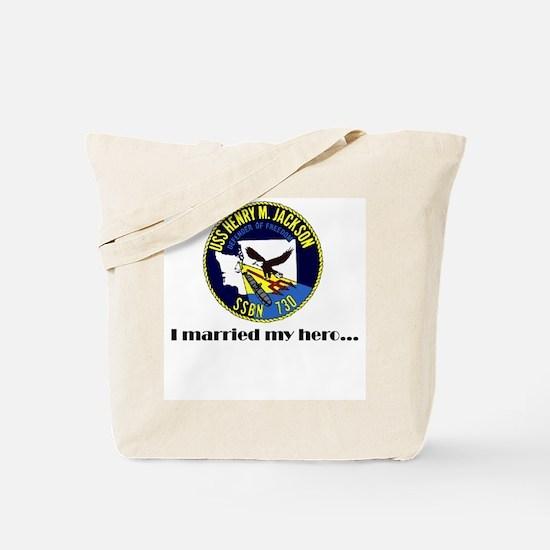 HMJ Married my Hero Tote Bag