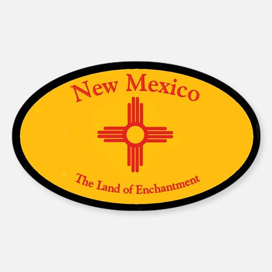 New Mexico Land Of Enchantment Decal