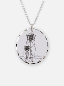 Leonberger Dog Family Necklace