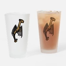 Jersey Devil Drinking Glass