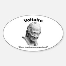 Voltaire Tyrants Decal