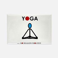 Yoga - No Religion Required Magnets