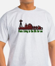 Farm Living is The Life T-Shirt