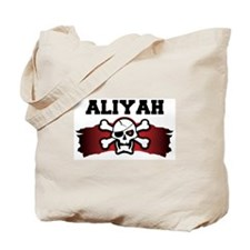 aliyah is a pirate Tote Bag
