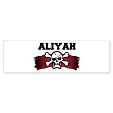 aliyah is a pirate Bumper Bumper Sticker