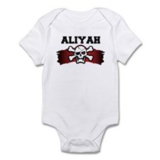 aliyah is a pirate Infant Bodysuit