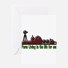 Farm Living Greeting Cards