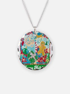 Happy Holidays Necklace