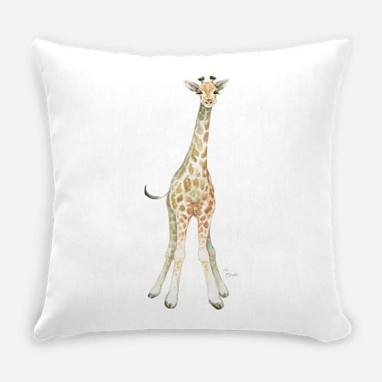 Cute Giraffe Everyday Pillow