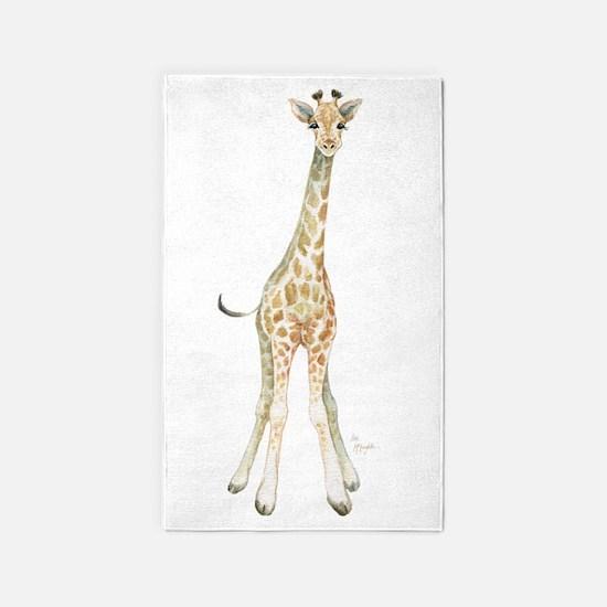 Cute Giraffes Area Rug