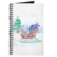 Happy Sleighbell Holidays by M. Nicole van Journal