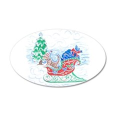 Happy Sleighbell Holidays by Wall Decal