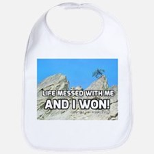 Life Messed With Me And I Won! Bib