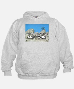 Life Messed With Me And I Won! Hoodie