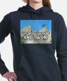Life Messed With Me And Women's Hooded Sweatshirt