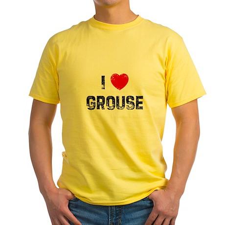 I * Grouse Yellow T-Shirt