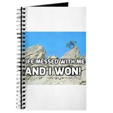 Life Messed With Me And I Won! Journal