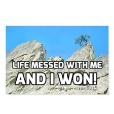 Life Messed With Me And I Postcards (Package of 8)