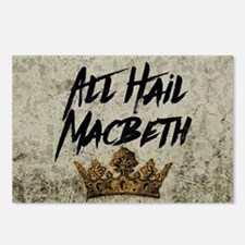 All Hail Macbeth Postcards (Package of 8)