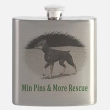 Min Pins & More Rescue Flask