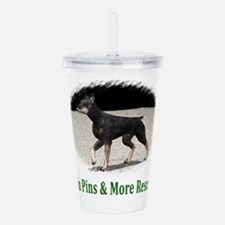Min Pins & More Rescue Acrylic Double-wall Tumbler