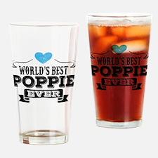 World's Best Poppie Ever Drinking Glass