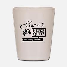Cute Gamer Shot Glass