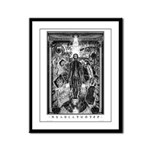 Nyarlathotep Framed Panel Print