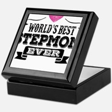 World's Best Stepmom Ever Keepsake Box