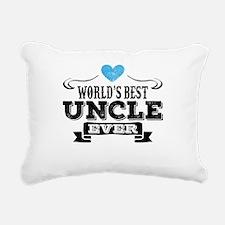 World's Best Uncle Ever Rectangular Canvas Pillow