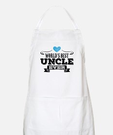 World's Best Uncle Ever Apron