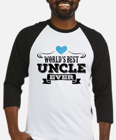 World's Best Uncle Ever Baseball Jersey