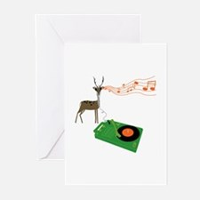 Cute Records Greeting Cards (Pk of 20)