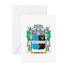 Emmett Coat of Arms (Family Crest) Greeting Cards