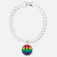 Rainbow Smiley Face Bracelet