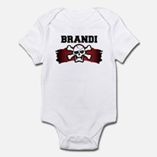 brandi is a pirate Infant Bodysuit