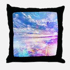 Dancing Sea Throw Pillow