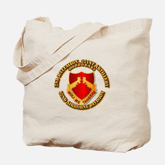 2nd Bn 321 Arty Tote Bag