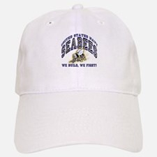 US Navy Seabees Blue and Gold.png Baseball Cap