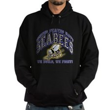 US Navy Seabees Blue and Gold.png Hoodie