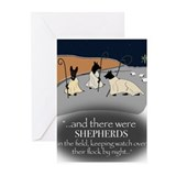 German shepherd Greeting Cards (20 Pack)