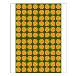 Mod Polka Dot Retro Small Poster