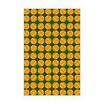 Mod Polka Dot Retro Mini Poster Print