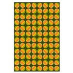 Mod Polka Dot Retro Large Poster
