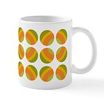 Mod Polka Dot Retro Ceramic Coffee Mug