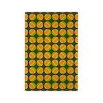 Mod Polka Dot Retro Rectangle Magnet (10 pack)