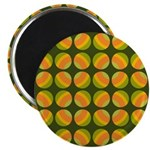 """Mod Polka Dot Retro 2.25"""" Magnet (10 pack)"""